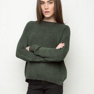 Green Bronx Sweater